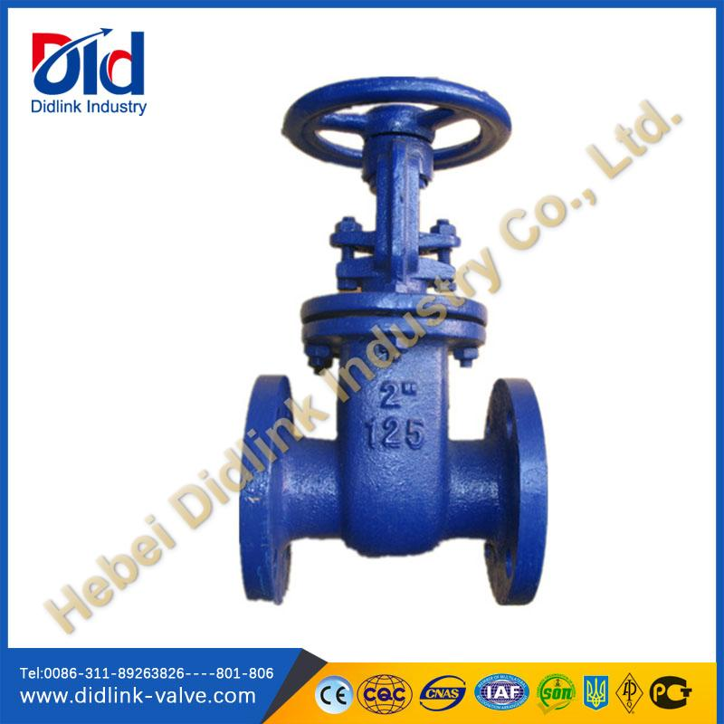 ANSI Rising Stem Metal Sealed 6 Gate Valve China