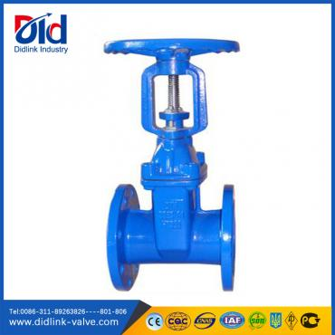 DIN 3352 F4 Resilient Seated Rising Gate Valve 3 inch, gate valve china