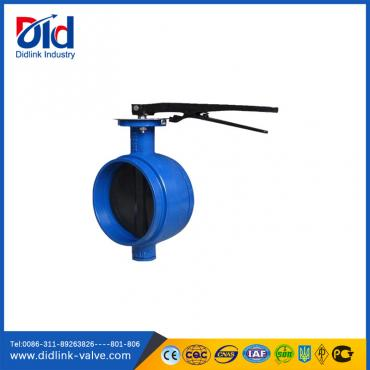Cast Iron Grooved Butterfly Valve 4 inch, clamp butterfly valve
