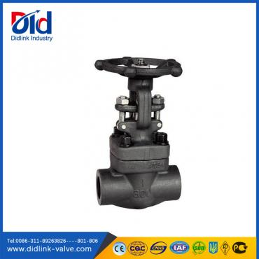 A105 Socket Welded Forged Steel Gate Valve handle, small gate valve
