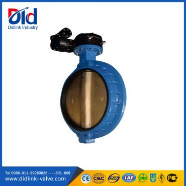 Cast Iron Single Flanged Butterfly Valve seal epdm, manual butterfly valve