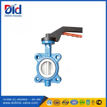 Aluminum Handle Pn16 Butterfly Valve Design Standards API 609, 100mm butterfly valve