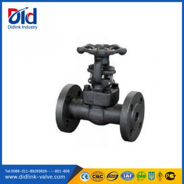 Forged Steel A105 Flanged high pressure Gate Valve 1 inch, american gate valve