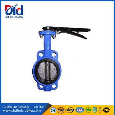 Wafer Type Cast Iron Butterfly Valve Manufacturers