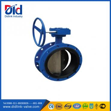 Cast Iron  EPDM Seat Flanged Butterfly Valve actuator Gear box, butterfly valve specification standard API 609
