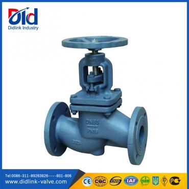Cast Iron Globe Valve disc type brass, manual globe valve