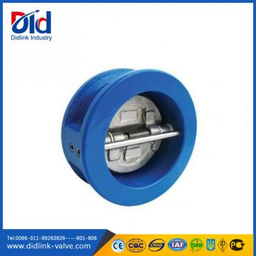Dual plate wafer check valve 2 inch, inline spring check valve