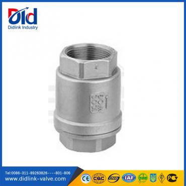 Manual  low pressure air check valve threaded, check valve for gas