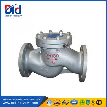 Cast steel lift type check valves vertical, water pressure check valve