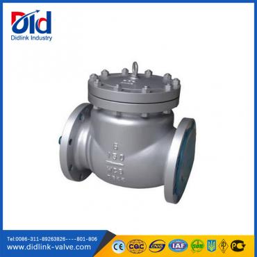 Cast steel 150lb Ansi double swing Check Valve pressure, liquid check valve