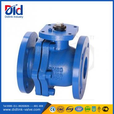 DIN3357 Manual GG25 Flange type Ball Valve manufacturers, ball valve description