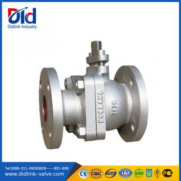 Cast iron Pn16 Dn50  ball valve manual, ball valve seat ptfe