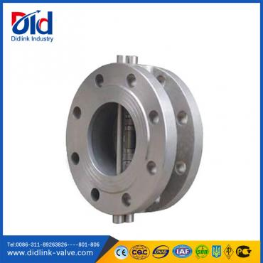 Stainless steel dual plate 5 check valve fitting, check wafer valve