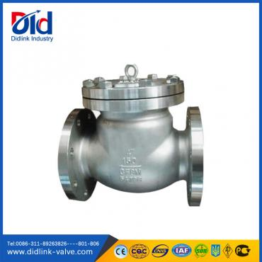 Stainless Steel Ansi 3 inch swing check valve parts, check valve types and applications