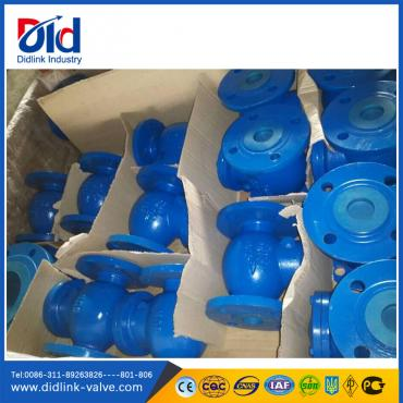 DIN cast iron 6 swing check valve dimensions, check valve china
