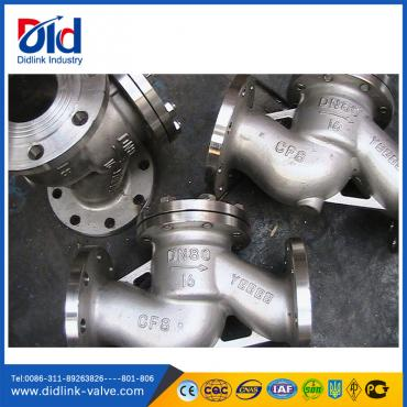 Stainless steel 3 spring check valve types lift, inline water check valve