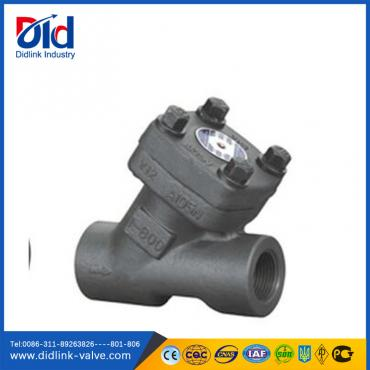 A105 Forged Steel Y check valve piston type, cartridge check valve