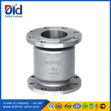 316 stainless steel vertical sewage check valve silent type, check valve symbol direction of flow
