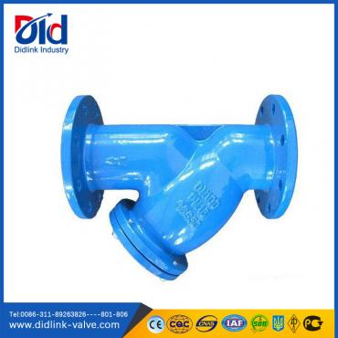 DIN Flanged end Ductile Iron Y Strainer wiki, plumbing strainer