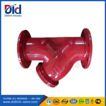 DIN3202 F1 PN16 GG25 4 Y Strainer in piping, industrial strainer