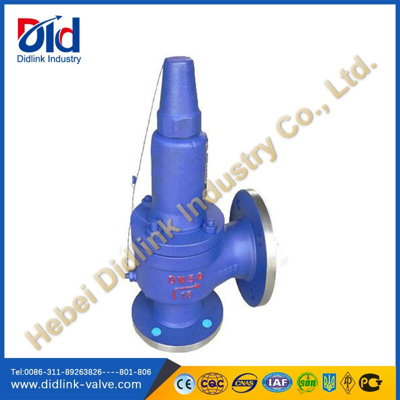 Carbon Steel flow Safety Valve discharge piping
