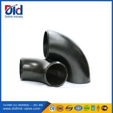 ANSI B16.9 A234 WPB seamless steel 90° elbow