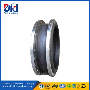 Reinforced rubber bellows expansion joint
