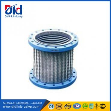 Braided corrugated flexible hose with thread