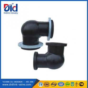 Flanged type rubber elbow joint 90 degree